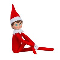 The Elf on the Shelf Girl Light Doll with Book: A Christmas Tradition by Carol V Aebersold image