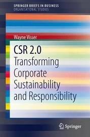 CSR 2.0 by Wayne Visser
