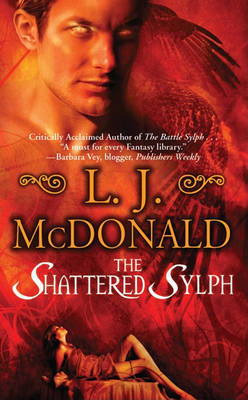 The Shattered Sylph by L.J. McDonald image