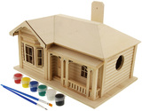 Paint Your Own Villa Birdhouse