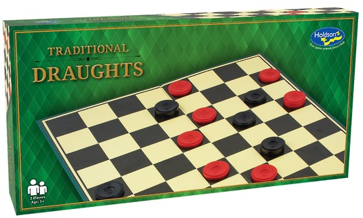 Traditional Board Game (Draughts) image
