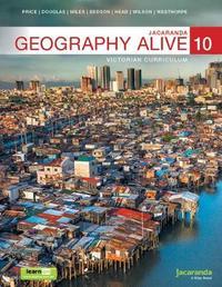 Jacaranda Geography Alive 10 Victorian Curriculum Ebookplus & Print by J Price