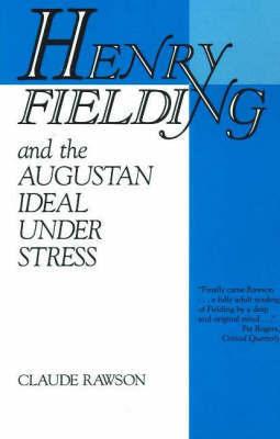 Henry Fielding by Claude Rawson
