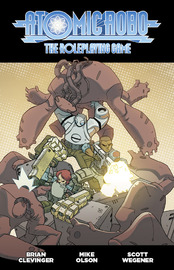 Fate Core RPG: Atomic Robo - Core Rules-book image