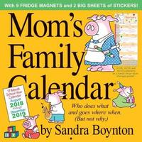Mom S Family Desk Planner Calendar 2018 Sandra Boynton Book Buy