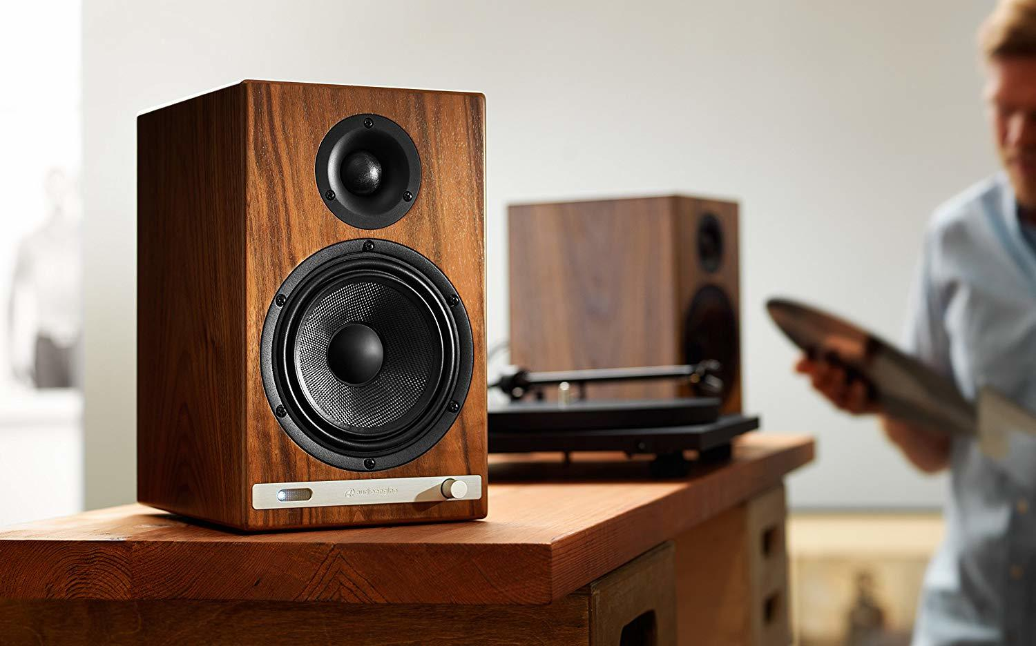 Audioengine: HD6 Powered Speakers (Pair) - Walnut image