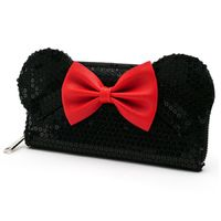Loungefly: Disney - Minnie Black Zip-Around Wallet