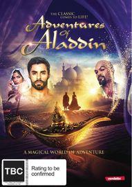 The Adventures of Aladdin on DVD