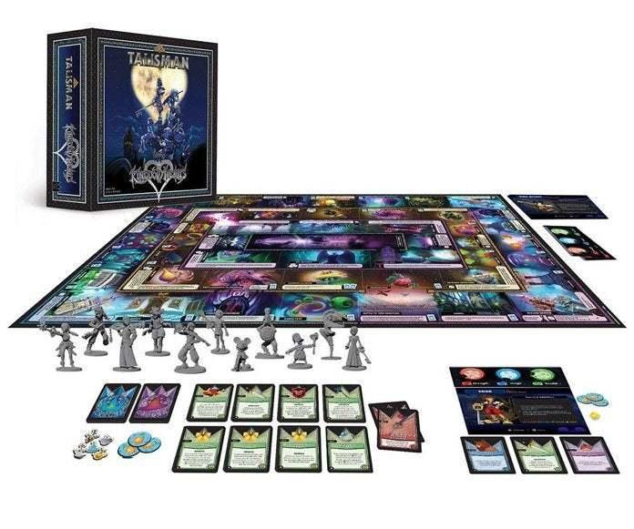 Talisman: Disney Kingdom Hearts Edition - Board Game image