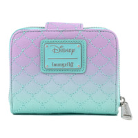 Loungefly: Little Mermaid - Ombre Scales Shell Zip Around Wallet