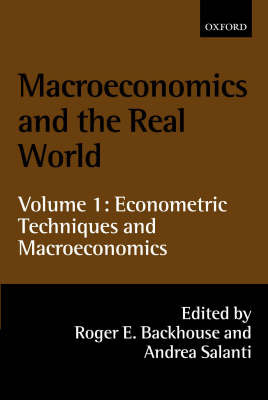 Macroeconomics and the Real World: Volume 1 image
