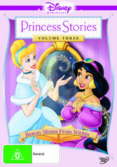 Disney Princess Stories Vol 3: Beauty Shines Within on DVD