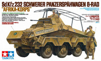 Tamiya German 8-Wheeled Heavy Armoured Car 'Africa-Corps' 1:35 Model Kit
