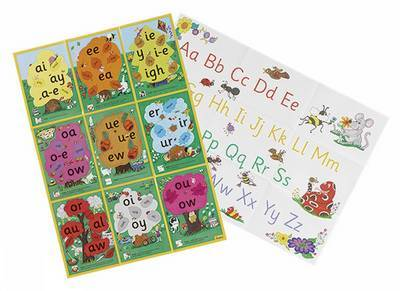 Jolly Phonics Alternative Spelling and Alphabet Posters by Sue Lloyd image