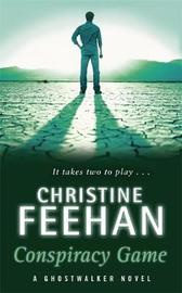 Conspiracy Game (GhostWalker #4) by Christine Feehan image