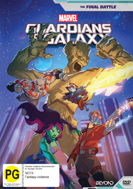 Guardians Of The Galaxy: The Final Battle on DVD