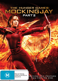 The Hunger Games: Mockingjay - Part 2 on DVD