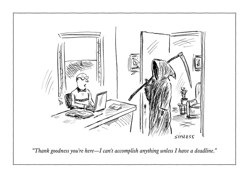 The New Yorker: Thank Goodness You're Here - Greeting Card image
