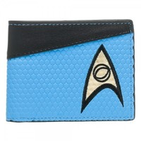 Star Trek Blue Bi-Fold Wallet