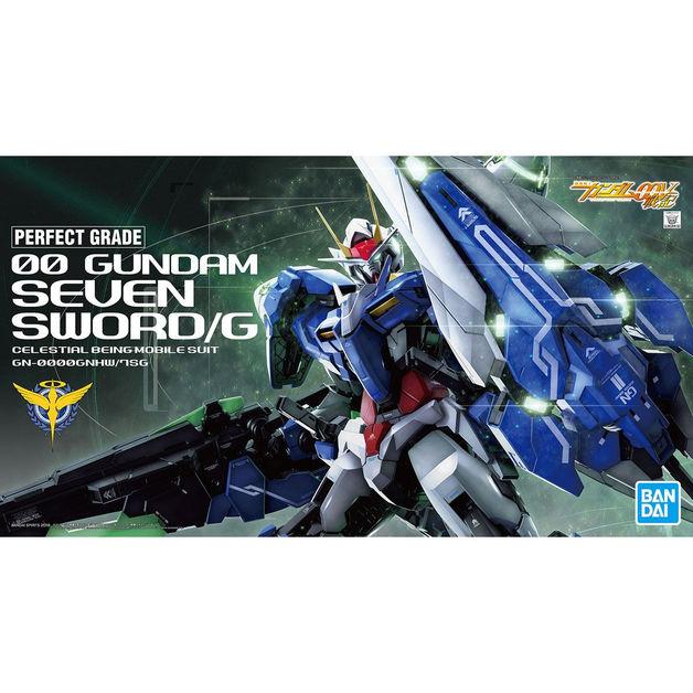 PG 1/60 00 Gundam Seven Sword/G - Model Kit