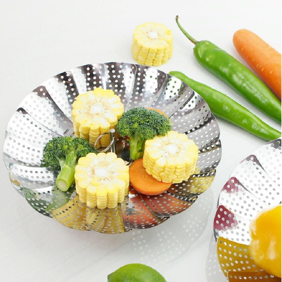 Ape Basics: Stainless Steel Vegetable Steamer Basket image
