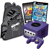 Nintendo GameCube Rip Curl Bundle (Indigo) for GameCube