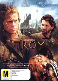 Troy on DVD image