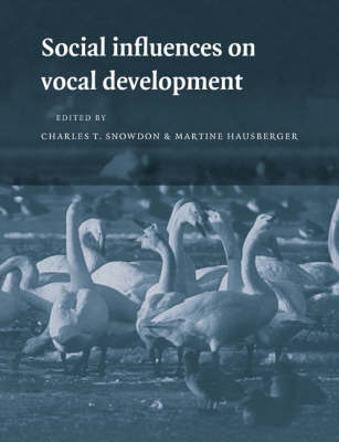 Social Influences on Vocal Development