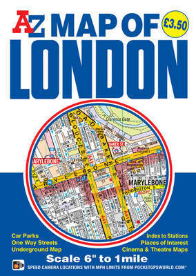 Map of London by Geographers A-Z Map Company