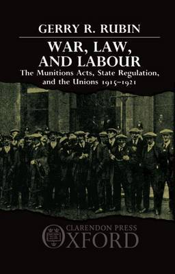 War, Law, and Labour by Gerry Rubin image