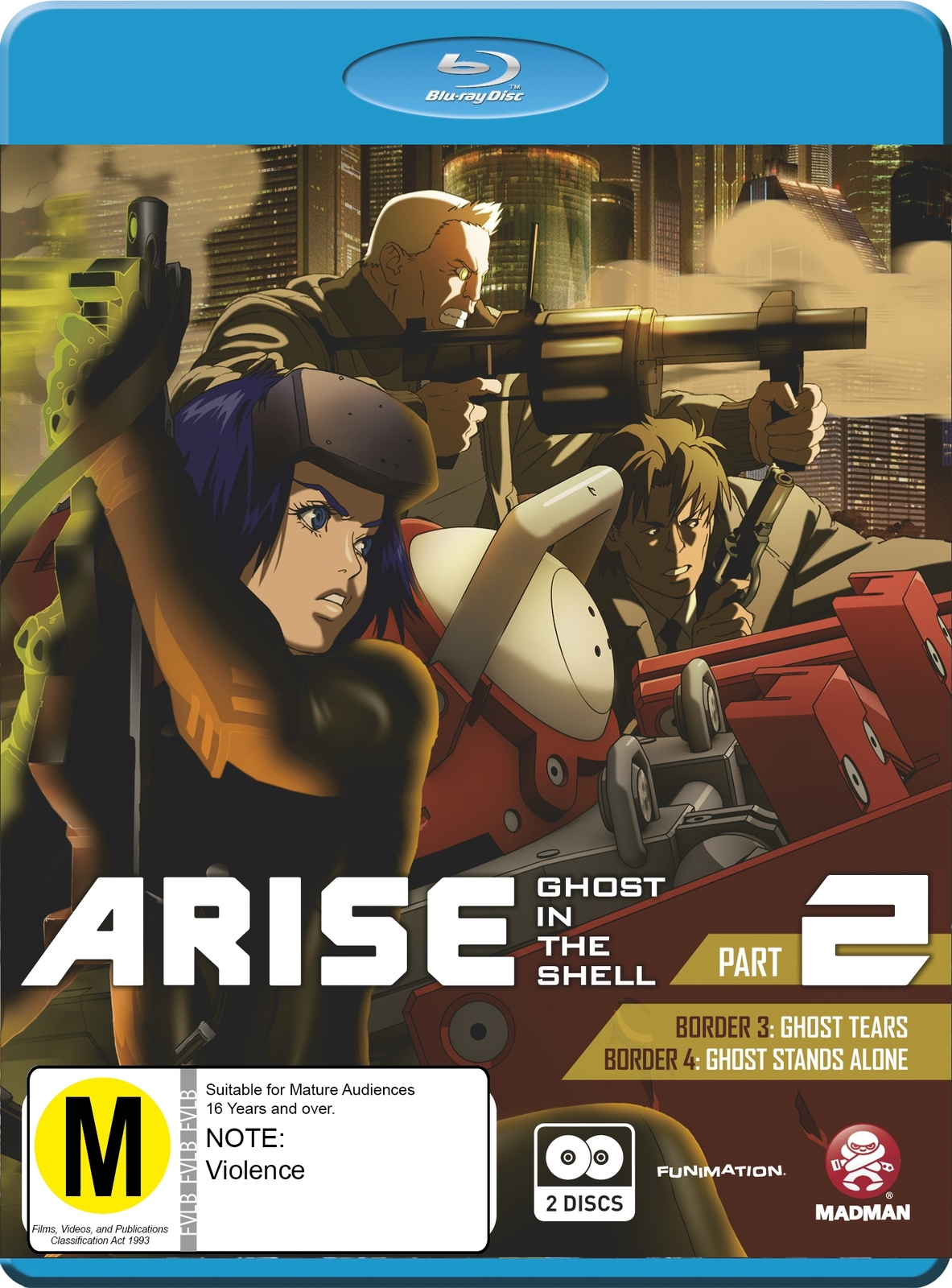 Ghost in the Shell: Arise - Part 2 on Blu-ray image