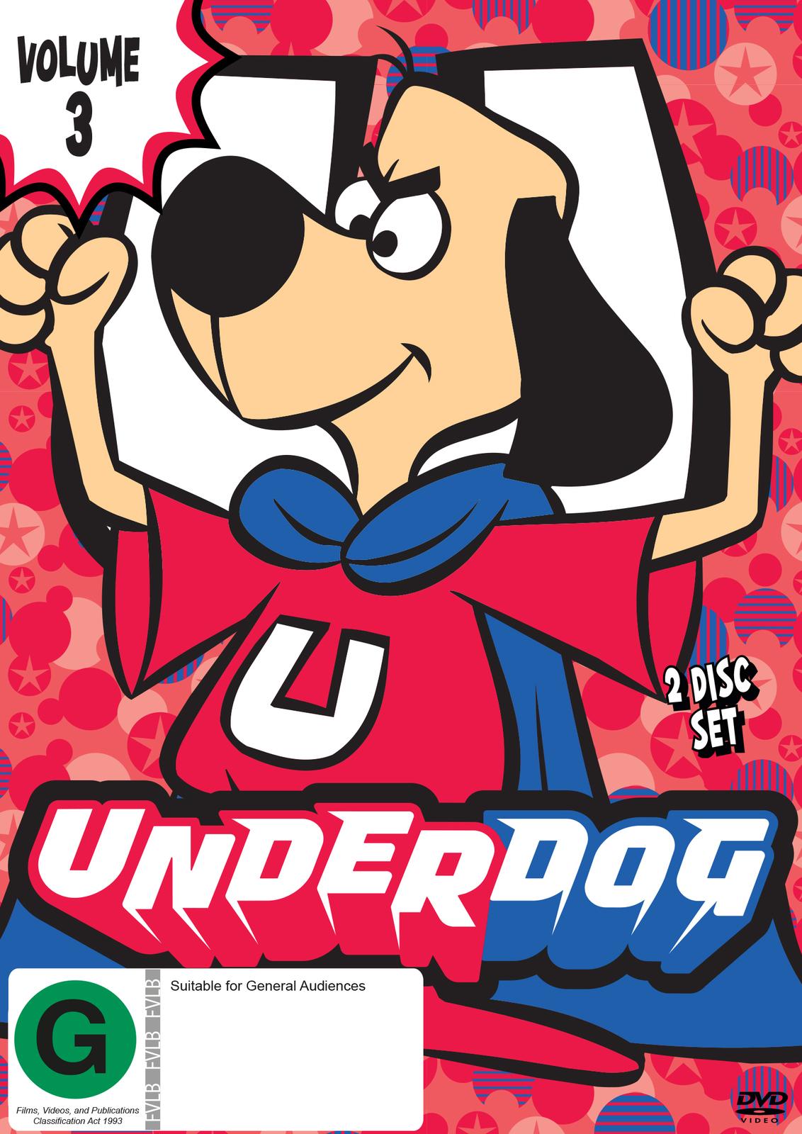 The Underdog Show - Volume 3 on DVD image