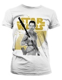 Star Wars: Rey Logo Ladies T-Shirt - Medium