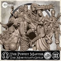 Guild Ball: The Mortician's Guild: The Master of Puppets
