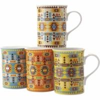 Casa Domani Navajo Mug Set 300ml (Set of 4)