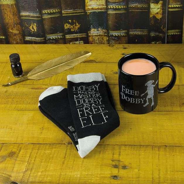 Harry Potter Dobby Mug & Socks Set
