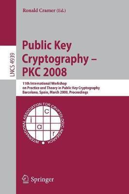 Public Key Cryptography - PKC 2008 image