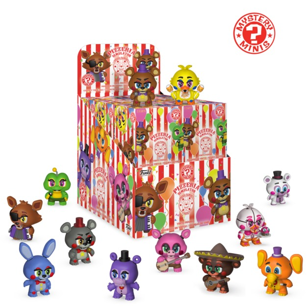 Five Nights at Freddy's: Pizza Sim - Mystery Minis (Box of 12)