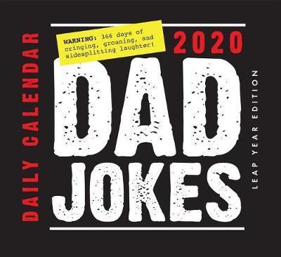 Dad Jokes Daily Calendar 2020 by Editors Of Portable Press image