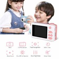 kids Digital Camera 1080P with 8GB SD Card - Pink Pig image