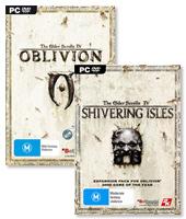 Elder Scrolls IV: Oblivion + Shivering Isles Bundle for PC Games