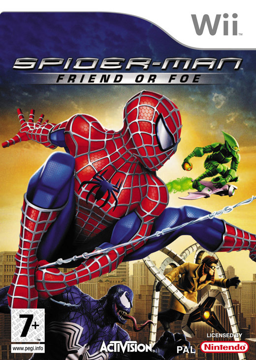 Spider-Man: Friend or Foe for Nintendo Wii