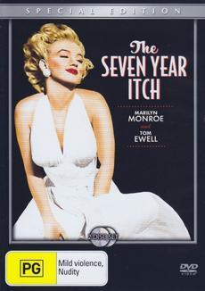The Seven Year Itch Special Edition on DVD