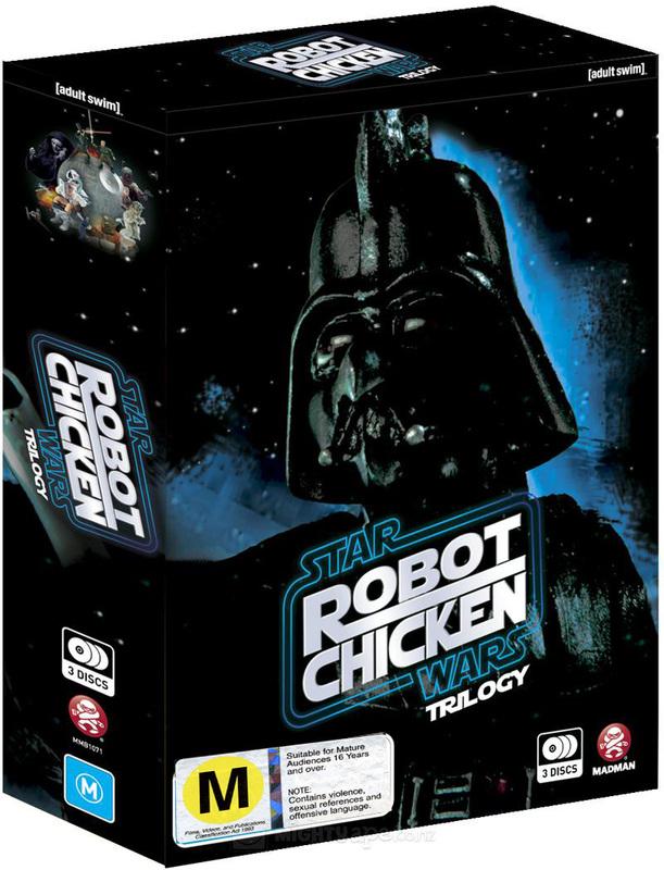 Robot Chicken Star Wars Complete Trilogy on DVD