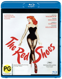 The Red Shoes on Blu-ray