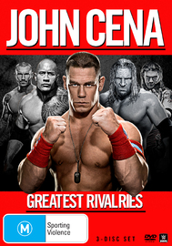 WWE John Cena: Greatest Rivalries on DVD