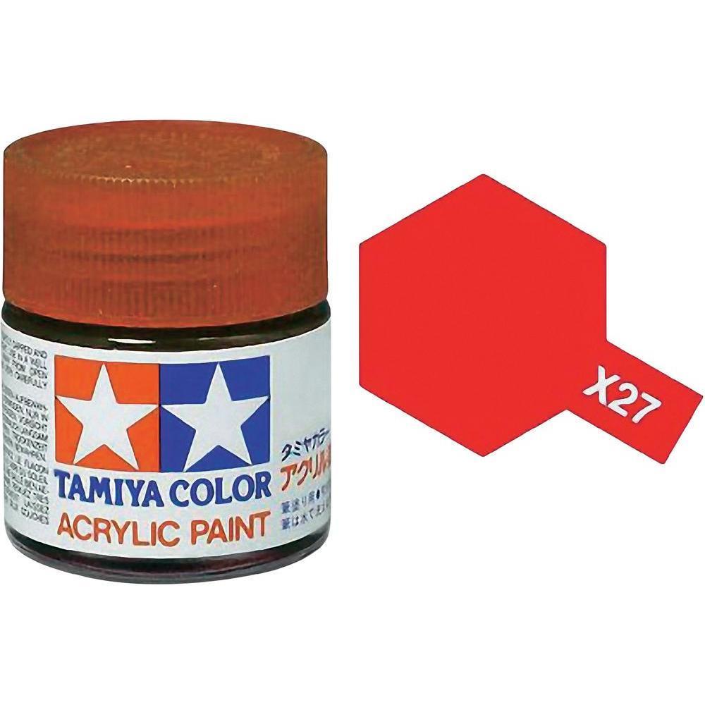Tamiya Acrylic: Clear Red (X27) image