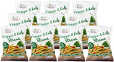 Eat Real Veggie & Kale Straws (10 x 142g)