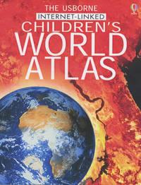 The Usborne Internet-linked Children's Atlas by Stephanie Turnbull image