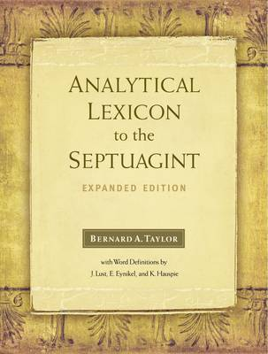 Analytical Lexicon to the Septuagint by Bernard Taylor image
